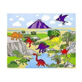"Dinosaur Activities ~Creation of a board ""The World of Jurassic""~"