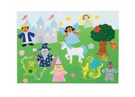 "Fairy Tale Activities ~Creation of a board ""My beautiful Fairy Tale Ladscape""~"