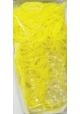 Rainbow Loom ~Recharge 600 élastiques jaunes Jelly avec 24 fermoirs~