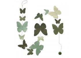 Guirlande Papillon Vert