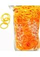 Rainbow Loom ~Recharge 600 élastiques ORANGE FLUO avec 24 fermoirs~