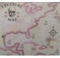 Carte au trésor de Pirate