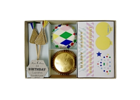 Arlequin ~Kit pour cupcakes~