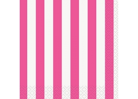 Lollipop pink ~Pack of 20 napkins~