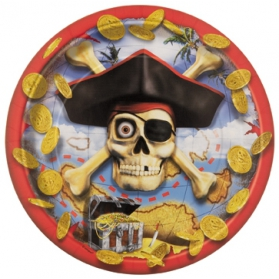 Pirate ~Pack of 8 plates Pirate Bounty~