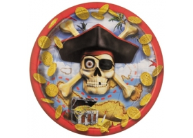 Pirate ~Set de 8 assiettes Pirate Bounty~