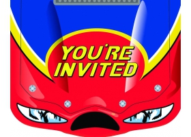 Formula 1 ~Set of 8 invitations~