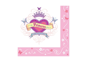 Princesse ~Set de 16 serviettes Princess~