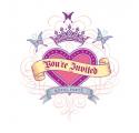 Princesse ~Set de 8 cartes d'invitation Princess~