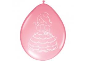 Princesse ~Sachet de 8 ballons~
