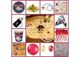 Party Pack ~Pirate Party Pack - For 8 kids
