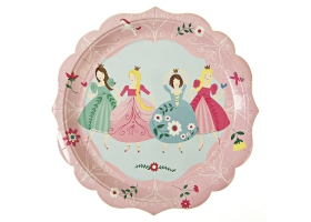 Princess ~Pack of 12 plates~