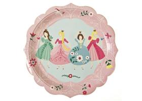 Princesse ~Set de 12 grandes assiettes Princesse~