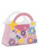 Conte de fée ~Set de 4 sacs cadeau avec des fleurs~