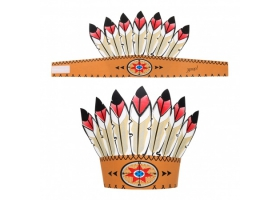 Far West ~Indian Feather Headdress~