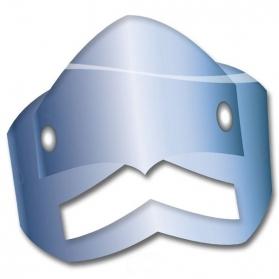Set de 4 masques de Chevalier