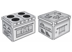 Toys ~Storages Box - Robot~