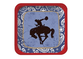 Far West ~Pack of 8 plates~
