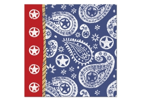 Far West ~Pack of 16 napkins~
