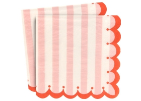 Pink Lollipop ~Pack of 12 plates Toot Sweet Pink~