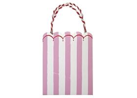 Pink Lollipop ~Set de 8 sacs cadeaux Toot Sweet Rose~