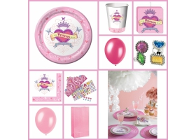 Party Pack ~Princess Party Box - For 6 kids~