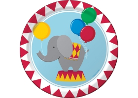 Cirque ~Set de 8 assiettes Circus~