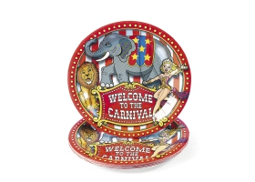 Circus ~Pack of 8 plates~