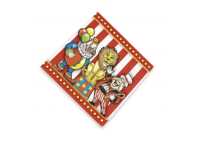 Circus ~Pack of 16 napkins~
