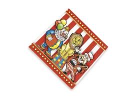 Cirque ~Set de 16 serviettes~