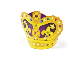 Knight Activities ~Make your own Jeweled Foam Crowns - Pack of 4~