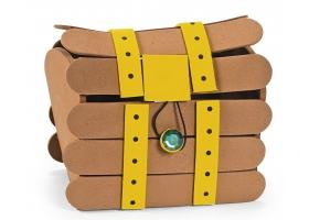 Activités Pirate ~Création d'un coffre au trésor de Pirate en mousse - Set de 4 coffres~
