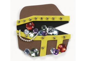 Pirate Activities ~Create your own Foam Treasure Chest - Pack of 4~
