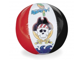 Activités Pirate ~Ballon gonfalble de Pirate à colorier~