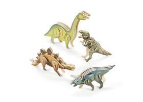 Activités Dinosaure ~Création d'un Dinosaure en bois en 3-D~