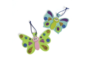 Fairy Tale ~Butterfly Magnet Craft Kit - Pack of 4~