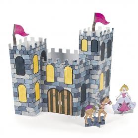 Activités - Château de Princesse ou de Chevalier à construire et à colorier
