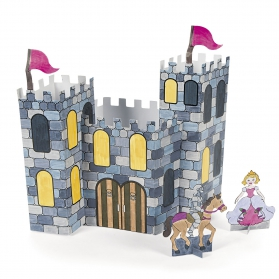 Knight & Princess Activities ~Make your own 3D Castle~
