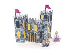 Activités ~Château de Princesse ou de Chevalier en carton à construire et à colorier~