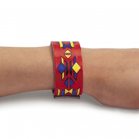 Far West Activities ~Color your own Indian Leather Bracelet~