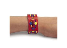 Activités Far West ~ Création d'un bracelet d'Indien - A colorier~