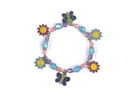 Activités Filles ~Création d'un bracelet avec des papillons et des perles~