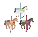 Circus Activities ~Create your own Carousel Horse - Pack of 6 Horses~