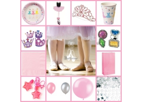 Party Pack ~Ballerina Party Pack - For 8 kids~