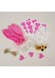 Ballon ~Kit décoration ballons rose - 8 ballons~