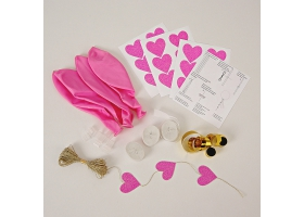 Balloon ~Pack of 10 balloons - pink~