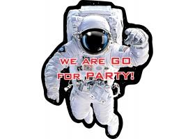 Espace - Set de 8 cartes d'invitation