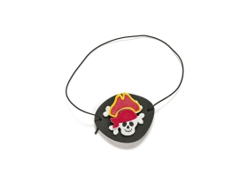Pirate Activities ~Create your own Skull & Crossbones reflector Neklace - Pack of 4~