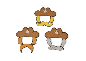 Far West Activities ~Create your own Cowboy Hat - Pack of 4~