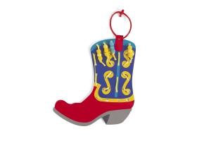 Activités Far West ~ Création de 4 bottes de Cowboy avec lacets et perles colorés~